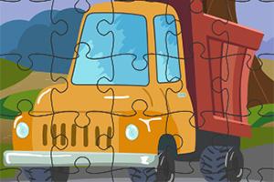 卡通卡车拼拼看