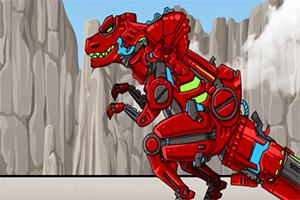 组装机械恐龙3