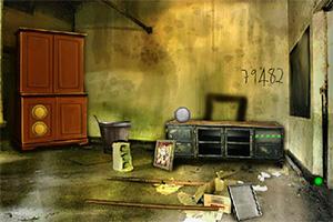 逃离荒废房屋