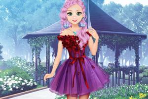 甜美奥莉的雪纺装