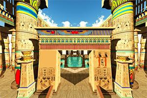 埃及神庙找不