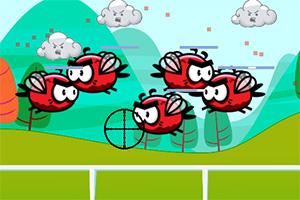 射击红色鸟