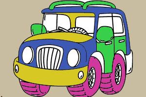 越野车涂颜色