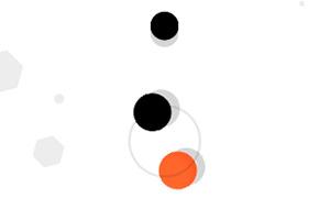 旋转的圆球