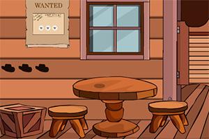 救援受困木屋的牛仔
