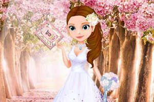 苏菲亚的婚礼邀请函