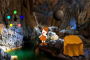 被困洞穴的女孩