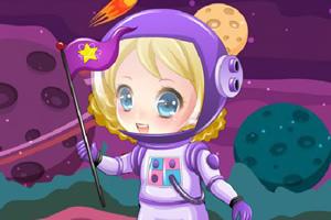 甜心女孩宇航员