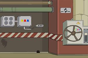 地下机械室逃