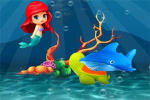 美人鱼海底找星星