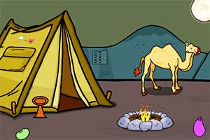 拯救沙漠中骆