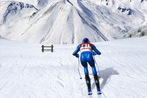 急速下坡滑雪