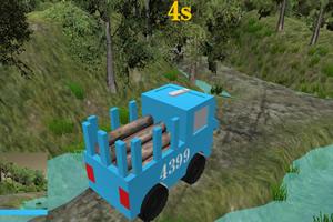 木材运输专家3D:危险狭路