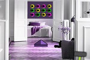 紫色溫馨小屋逃脫