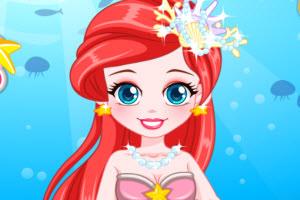 小人鱼公主礼服设计