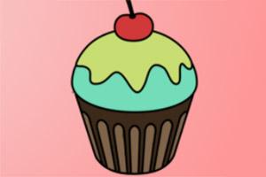 精致蛋糕图画册