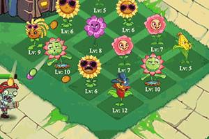 植物僵尸之花园保卫战