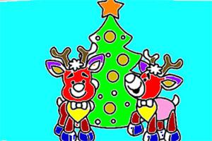 圣诞图画册