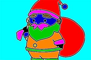 圣诞老爷爷图画册
