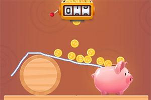 猪崽存钱罐