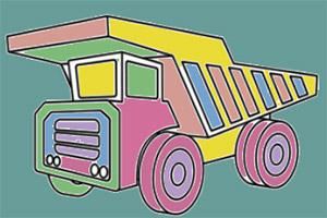 超大卡车图画册