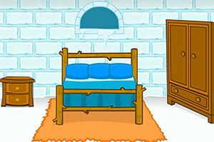 冰冻房屋逃生