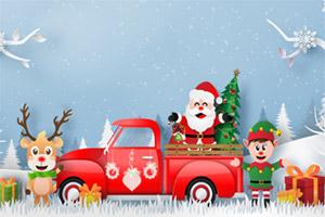 圣诞卡车找茬