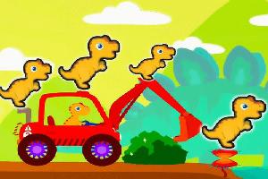 恐龙挖掘机驾驶员