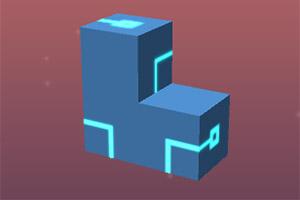 旋转网格立方体