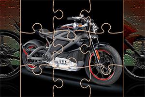极速摩托车拼图