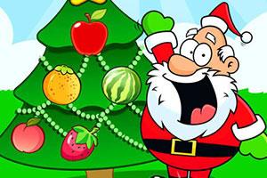 儿童圣诞树装扮