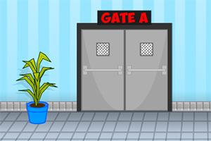 逃离上锁的机场
