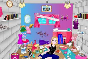 整理女孩房间