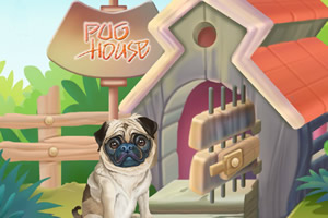 哈巴狗房子装饰