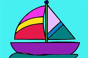 小船图画册