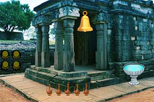 寺庙中寻钥匙