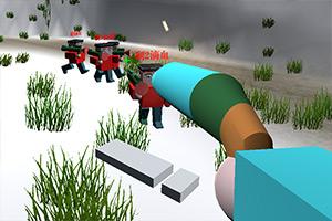 绝地法则3D雪地求生