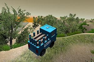 木材运输专家3D山巅运输