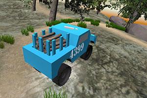 丛林运输车3D大脚车轮
