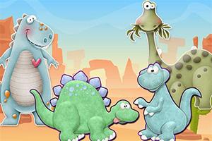 组装恐龙化石
