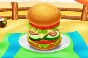 美味的巨无霸汉堡