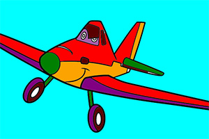 小飞机图画册
