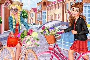骑单车的女孩们