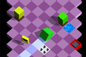前行的立方体