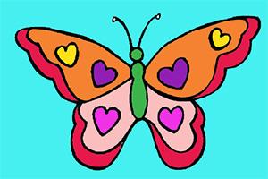 花蝴蝶图画册