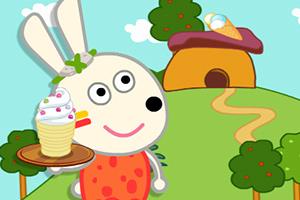 小兔黛米冰淇淋店