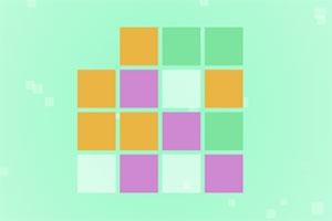 彩色方块堆叠