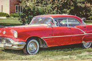 老旧生锈的汽车3