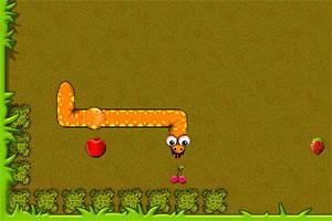 爱吃水果的小蛇