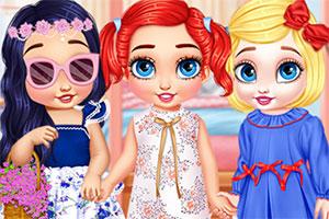 快乐的小公主们